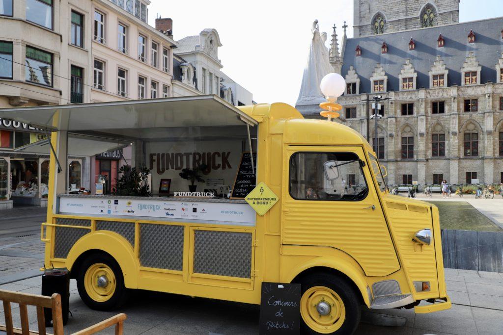 Le camion du concours Fundtruck